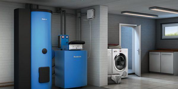 Buderus Logano plus GB212 - Beheizung und Warmwasserbereitung